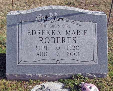 ROBERTS, EDREKKA MARIE - Washington County, Arkansas | EDREKKA MARIE ROBERTS - Arkansas Gravestone Photos