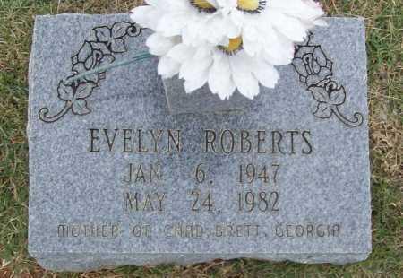 ROBERTS, EVELYN - Washington County, Arkansas | EVELYN ROBERTS - Arkansas Gravestone Photos