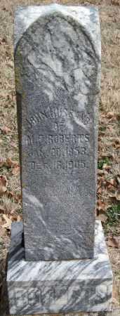 ROBERTS, JOHN - Washington County, Arkansas | JOHN ROBERTS - Arkansas Gravestone Photos