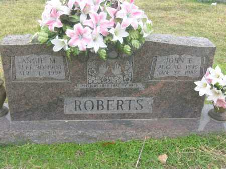 ROBERTS, JOHN E - Washington County, Arkansas | JOHN E ROBERTS - Arkansas Gravestone Photos