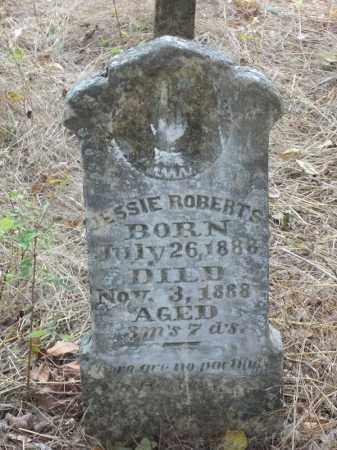 ROBERTS, JESSIE - Washington County, Arkansas   JESSIE ROBERTS - Arkansas Gravestone Photos