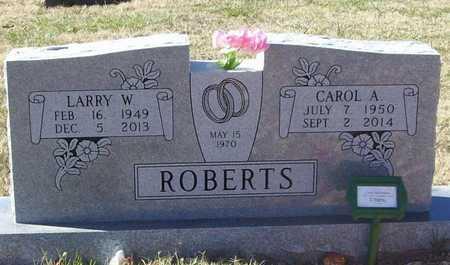 ROBERTS, LARRY W - Washington County, Arkansas   LARRY W ROBERTS - Arkansas Gravestone Photos