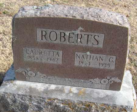 ROBERTS, NATHAN G - Washington County, Arkansas | NATHAN G ROBERTS - Arkansas Gravestone Photos