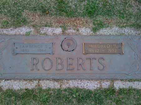 ROBERTS, LAWRENCE S. - Washington County, Arkansas | LAWRENCE S. ROBERTS - Arkansas Gravestone Photos