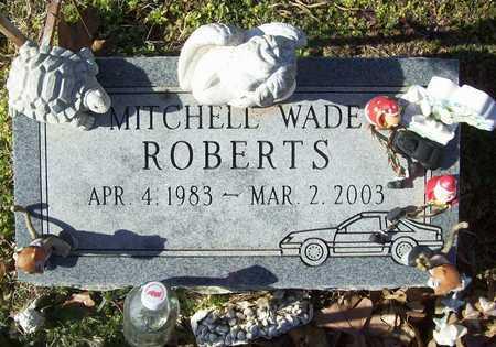 ROBERTS, MITCHELL WADE - Washington County, Arkansas   MITCHELL WADE ROBERTS - Arkansas Gravestone Photos