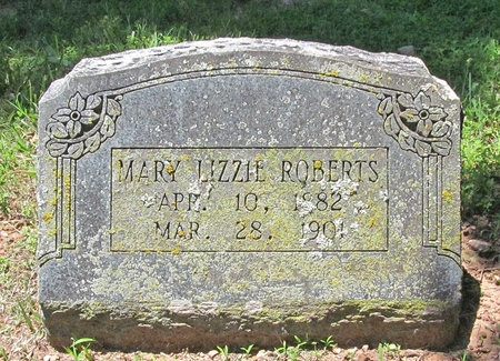 ROBERTS, MARY LIZZIE - Washington County, Arkansas | MARY LIZZIE ROBERTS - Arkansas Gravestone Photos