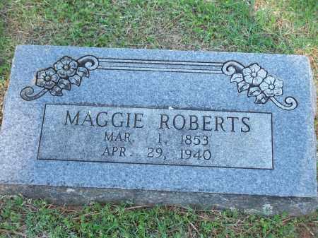 ROBERTS, MAGGIE - Washington County, Arkansas | MAGGIE ROBERTS - Arkansas Gravestone Photos