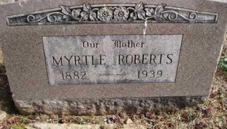 ROBERTS, MYRTLE - Washington County, Arkansas | MYRTLE ROBERTS - Arkansas Gravestone Photos