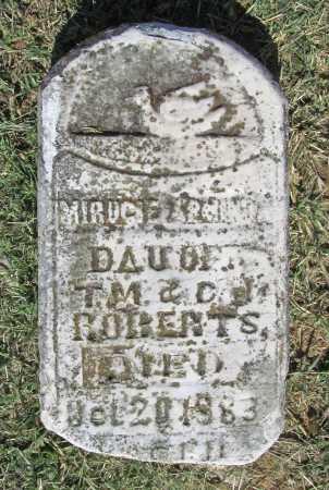 ROBERTS, MIRUCIE ARMINO - Washington County, Arkansas | MIRUCIE ARMINO ROBERTS - Arkansas Gravestone Photos