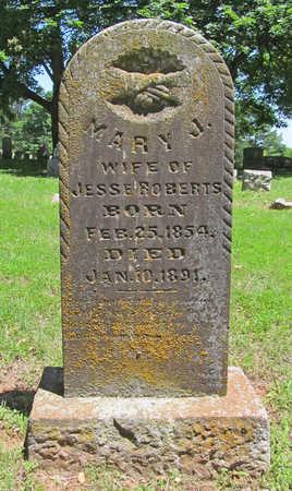 ROBERTS, MARY J - Washington County, Arkansas | MARY J ROBERTS - Arkansas Gravestone Photos