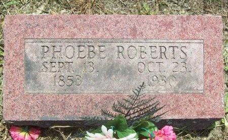 ROBERTS, PHOEBE - Washington County, Arkansas | PHOEBE ROBERTS - Arkansas Gravestone Photos