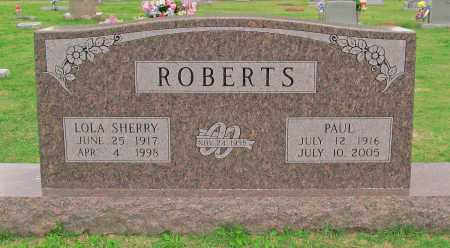 ROBERTS, PAUL - Washington County, Arkansas | PAUL ROBERTS - Arkansas Gravestone Photos