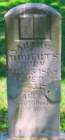 ROBERTS, SARAH C - Washington County, Arkansas   SARAH C ROBERTS - Arkansas Gravestone Photos