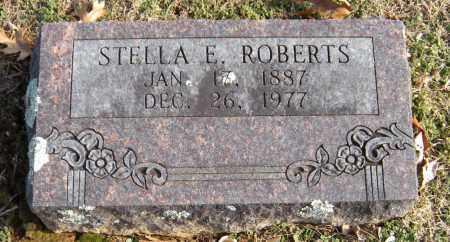 ROBERTS, STELLA E - Washington County, Arkansas | STELLA E ROBERTS - Arkansas Gravestone Photos