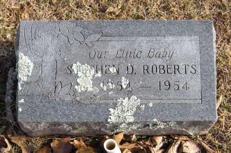 ROBERTS, STEPHEN D - Washington County, Arkansas | STEPHEN D ROBERTS - Arkansas Gravestone Photos