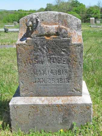 ROBERTS, THOMAS H - Washington County, Arkansas | THOMAS H ROBERTS - Arkansas Gravestone Photos