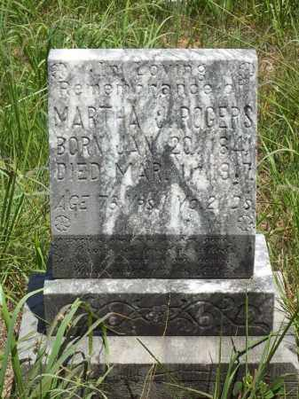 ROGERS, MARTHA J - Washington County, Arkansas | MARTHA J ROGERS - Arkansas Gravestone Photos