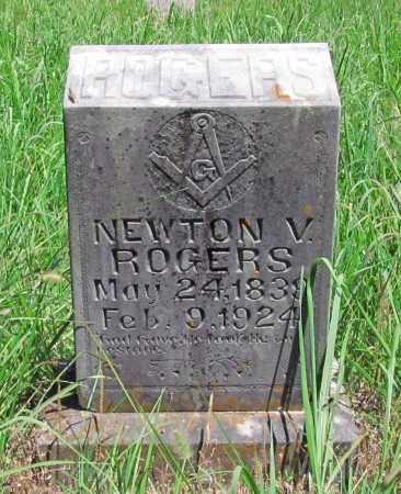 ROGERS, NEWTON V - Washington County, Arkansas | NEWTON V ROGERS - Arkansas Gravestone Photos