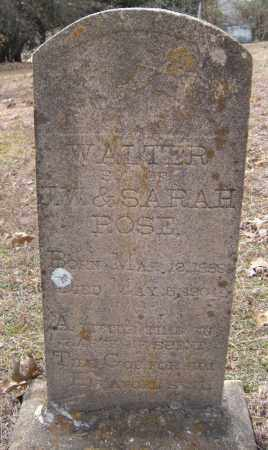 ROSE, WALTER - Washington County, Arkansas   WALTER ROSE - Arkansas Gravestone Photos
