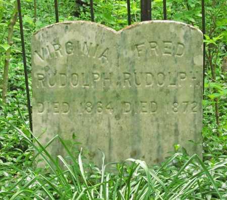 RUDOLPH, FRED - Washington County, Arkansas | FRED RUDOLPH - Arkansas Gravestone Photos