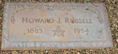 RUSSELL, HOWARD J - Washington County, Arkansas | HOWARD J RUSSELL - Arkansas Gravestone Photos