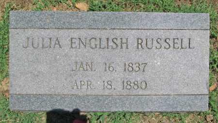 RUSSELL, JULIA - Washington County, Arkansas | JULIA RUSSELL - Arkansas Gravestone Photos