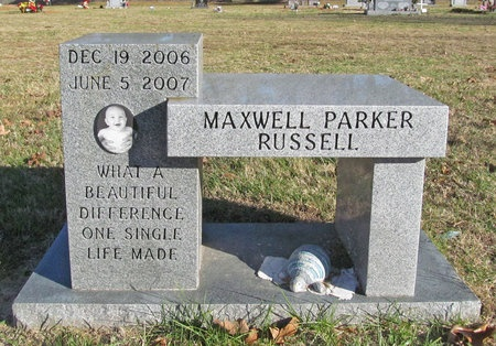 RUSSELL, MAXWELL PARKER - Washington County, Arkansas   MAXWELL PARKER RUSSELL - Arkansas Gravestone Photos