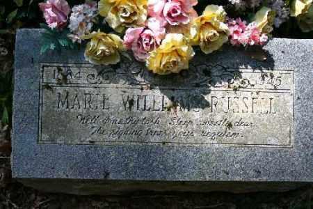 RUSSELL, MARIE - Washington County, Arkansas | MARIE RUSSELL - Arkansas Gravestone Photos
