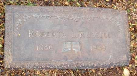 RUSSELL, ROBERTA L - Washington County, Arkansas | ROBERTA L RUSSELL - Arkansas Gravestone Photos