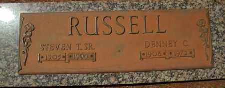 RUSSELL, DENNEY C. - Washington County, Arkansas | DENNEY C. RUSSELL - Arkansas Gravestone Photos
