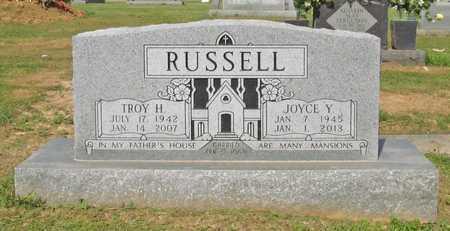 RUSSELL, JOYCE YVONNE - Washington County, Arkansas | JOYCE YVONNE RUSSELL - Arkansas Gravestone Photos