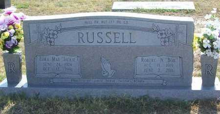 "RUSSELL, ZORA MAE ""JACKIE"" - Washington County, Arkansas   ZORA MAE ""JACKIE"" RUSSELL - Arkansas Gravestone Photos"