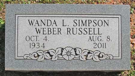 RUSSELL, WANDA LOUISE - Washington County, Arkansas   WANDA LOUISE RUSSELL - Arkansas Gravestone Photos