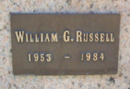 RUSSELL, WILLIAM G - Washington County, Arkansas | WILLIAM G RUSSELL - Arkansas Gravestone Photos