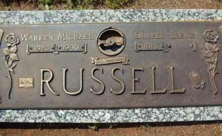 RUSSELL, WARREN MICHAEL - Washington County, Arkansas | WARREN MICHAEL RUSSELL - Arkansas Gravestone Photos