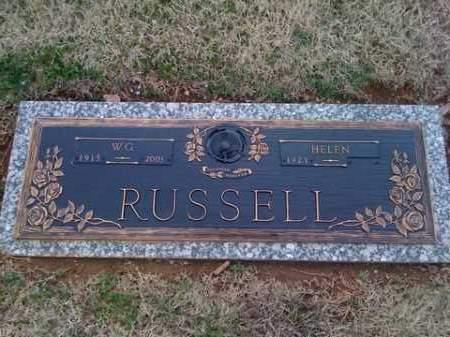 RUSSELL, W.G. - Washington County, Arkansas | W.G. RUSSELL - Arkansas Gravestone Photos