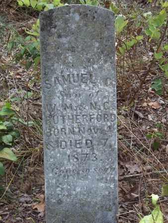 RUTHERFORD, SAMUEL C - Washington County, Arkansas | SAMUEL C RUTHERFORD - Arkansas Gravestone Photos