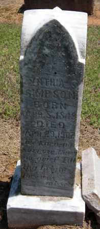 SIMPSON, CYNTHIA S - Washington County, Arkansas | CYNTHIA S SIMPSON - Arkansas Gravestone Photos