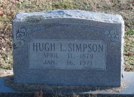 SIMPSON, HUGH L - Washington County, Arkansas | HUGH L SIMPSON - Arkansas Gravestone Photos