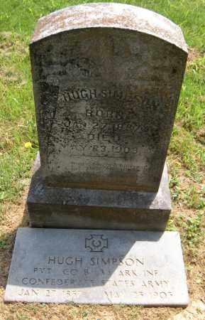 SIMPSON, HUGH - Washington County, Arkansas   HUGH SIMPSON - Arkansas Gravestone Photos