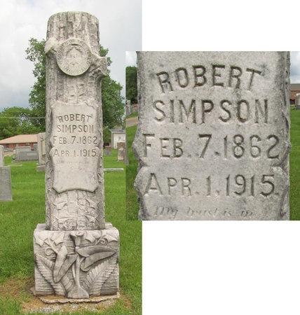SIMPSON, ROBERT - Washington County, Arkansas | ROBERT SIMPSON - Arkansas Gravestone Photos