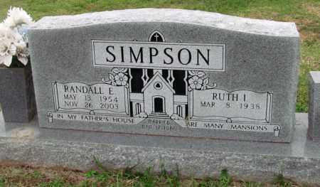 SIMPSON, RANDALL E - Washington County, Arkansas   RANDALL E SIMPSON - Arkansas Gravestone Photos
