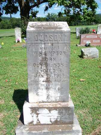 SIMPSON, SALLIE - Washington County, Arkansas   SALLIE SIMPSON - Arkansas Gravestone Photos