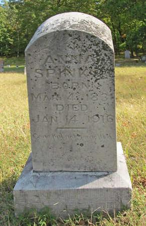 RIDDLE SPINKS, ANNA - Washington County, Arkansas   ANNA RIDDLE SPINKS - Arkansas Gravestone Photos