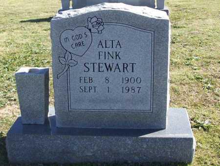 STEWART, ALTA - Washington County, Arkansas   ALTA STEWART - Arkansas Gravestone Photos