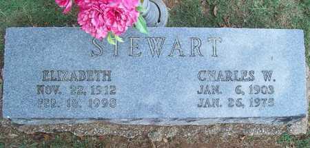 STEWART, CHARLES W - Washington County, Arkansas | CHARLES W STEWART - Arkansas Gravestone Photos