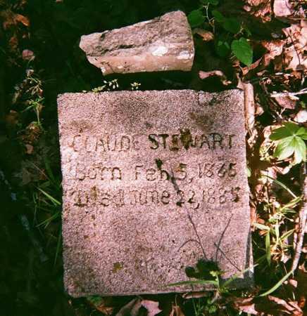 STEWART, CLAUDE - Washington County, Arkansas | CLAUDE STEWART - Arkansas Gravestone Photos
