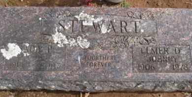 "STEWART, ELMER D ""JOHNNY"" - Washington County, Arkansas | ELMER D ""JOHNNY"" STEWART - Arkansas Gravestone Photos"