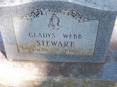 STEWART, GLADYS - Washington County, Arkansas   GLADYS STEWART - Arkansas Gravestone Photos