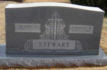 STEWART, METTIE A - Washington County, Arkansas | METTIE A STEWART - Arkansas Gravestone Photos